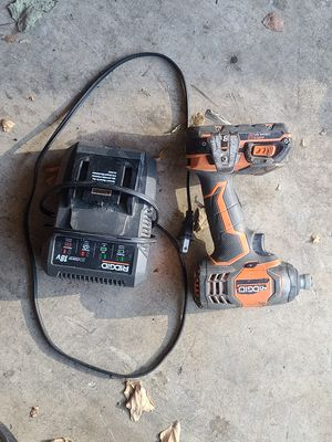 Ridged impact drill Brishless cordless 18 volt for Sale in Orange, CA