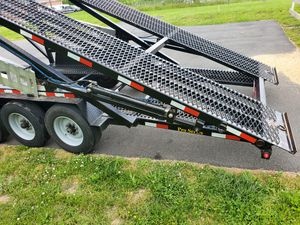 2018 Kaufmann mini 5 trailer used like new for Sale in Lovettsville, VA