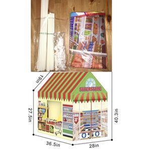 Kids Super Market Playhouse Tent for Sale in Puyallup, WA