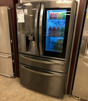 🌞New LG Black Stainless 4 Door French Door Refrigerator!1 Year Manufacturer Warranty Included for Sale in Chandler, AZ