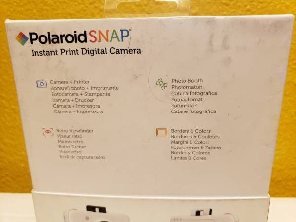 PolaroidSnap Instant Digital Camera (White) new selling for only $60.