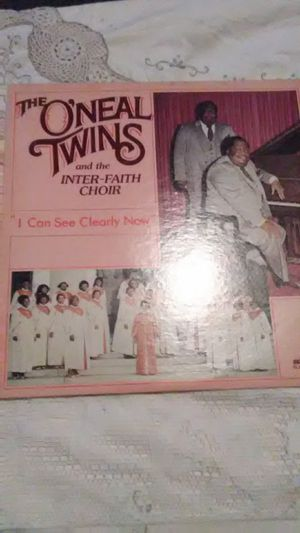 Vinyl The O'Neal Twins and the Inter-Faith Choir for Sale in Camden, AL