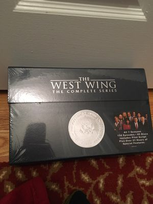 Brand new never opened West Wing DVD Set - Complete Series Set for the West Wing series for Sale in Hamden, CT