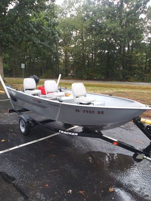 2012 tracker 14 foot for Sale in Doswell, VA