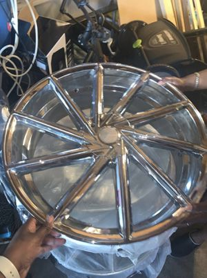 "22"" chrome rims for Sale in Jan Phyl Village, FL"