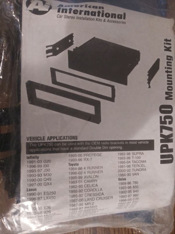 Car stereo kit