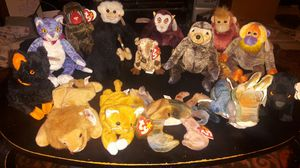 15 beanie babys for Sale in Fresno, CA