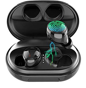 Wireless Earbuds Bluetooth 5.0 Headphones, 120H Playtime Deep Bass Stereo Sound Earbuds with Microphone, IPX8 Waterproof Headphones with Charging Cas for Sale in Upland, CA