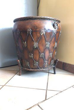 Big iron flower pot for Sale in Tucson,  AZ