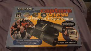 Meade binoculars with digital camera inside for Sale in Alexandria, LA