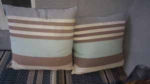 Potterybarn patio pillows for Sale in Oakland Park, FL