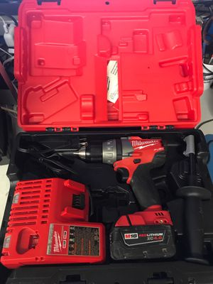 Milwaukee Hammer drill charger and battery for Sale in Winter Garden, FL