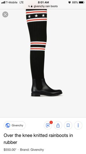 Givenchy Rain Boots for Sale in Bronx, NY