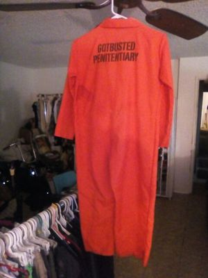 Inmate Costume for Sale in Fresno, CA