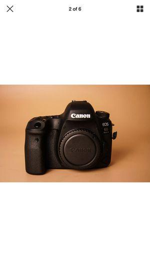 Like new canon 6d Mark Ii for Sale in Bakersfield, CA