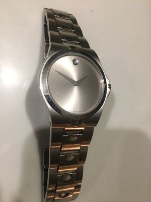 stainless steel movado men's watch for Sale in Silver Spring, MD