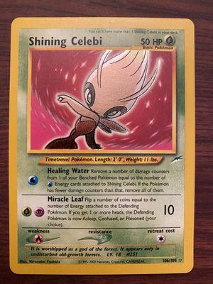 Pokemon card Shining Celebi Ultra Rare Holo for Sale in Newport Beach, CA