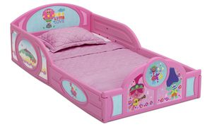 Trolls toddler bed (Mattress sold separately for $35) for Sale in Hayward, CA