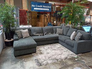 New Sectional Sofa, Dark Grey, SKU# ASH72600LAFTC for Sale in Norwalk, CA