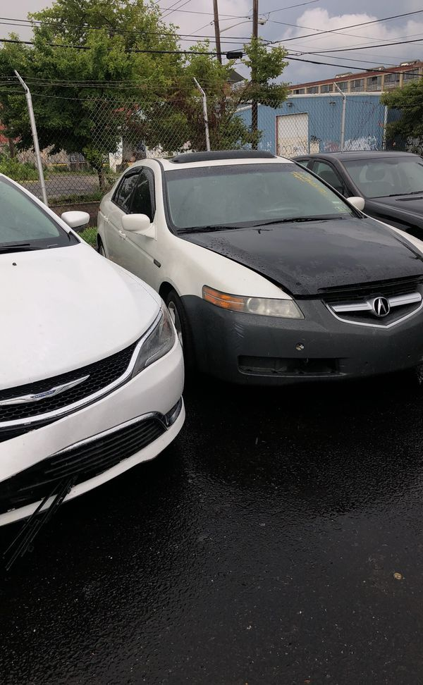 4 Acura for parts all color with navigation