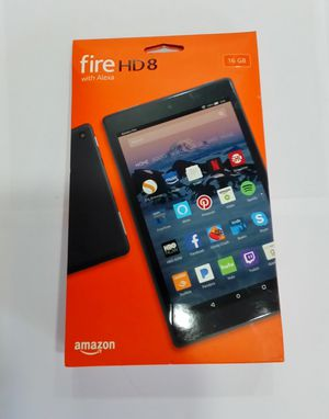 AMAZON FIRE HD 8 WITH ALEXA 16GB 7TH GENERATION TABLET for Sale in Lakewood, CO