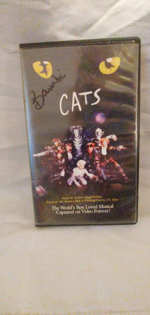 CATS VHS The Musical VHS Tape and Pamphlet for Sale in Seattle, WA