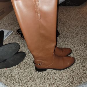 Sam And Libby brown Boots, Size 9.5 for Sale in Harrah, OK