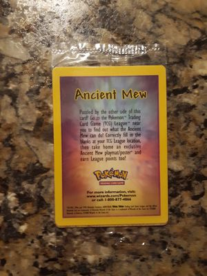 Pokemon Card - Holofoil Ancient Mew SEALED!!! for Sale in Mead, WA
