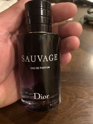 Sauvage man Dior perfume for Sale in Everett, WA