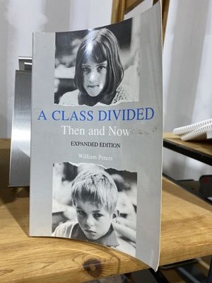 Book: A class divided Then and now by William Peters for Sale in St. Cloud, FL