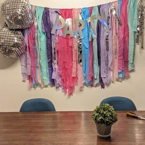 Fringe Backdrop for Sale in Dallas, TX