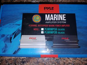 Pyle Marine-rated amplifier for Sale in La Vergne, TN