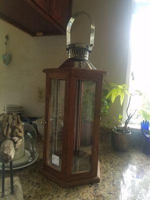 Beautiful lantern/candle holder for Sale in Pleasanton, CA