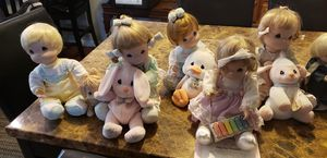 """Precious moments collectible ceramic dolls 9"""" tall for Sale in St. Cloud, FL"""