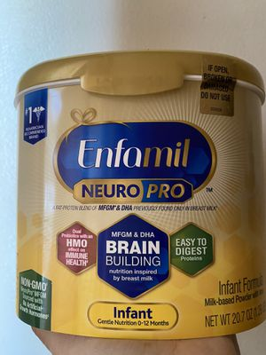Enfamil 5 available $20 each or trade for enfamil 2 cans 12.onz exp. date 2021 for Sale in South Gate, CA