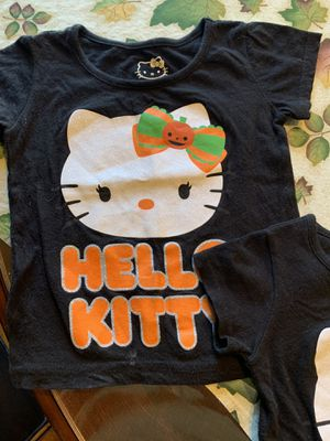 Hello Kitty tops 2- size 3 and size 2 for Sale in Hemet, CA