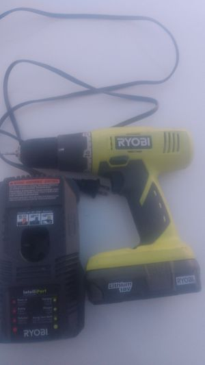 Ryobi drill for Sale in Tracy, CA