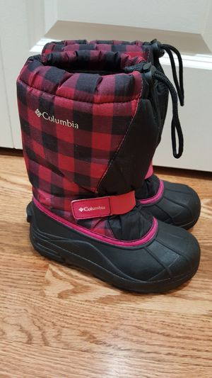 Columbia Girls Size 1 Snow Boots. for Sale in Everett, WA