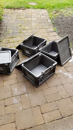 Storage boxes - super sturdy for Sale in Boring, OR