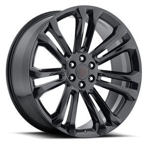 "Brand New 24"" Rep29 6x139.7 Black Wheels for Sale in Hialeah, FL"