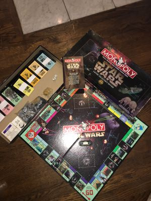 Star Wars Monopoly board game for Sale in Boston, MA
