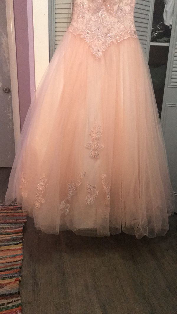 Pink Quincenera Dress (PRICE IS NEGOTIABLE)