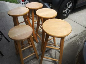 Four wooden high chairs for Sale in Apopka, FL