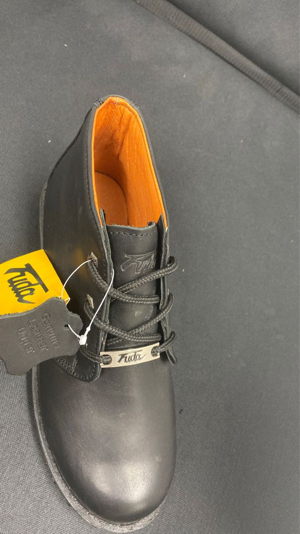 Men's Fuda leather work boot sizes 6.5, 7, 7.5,8, 8.5, 9 and 10.5