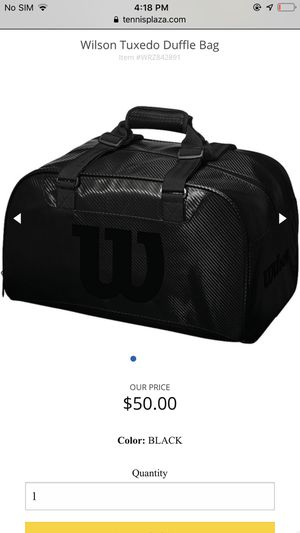 Wilson Duffle bag for Sale in Los Angeles, CA