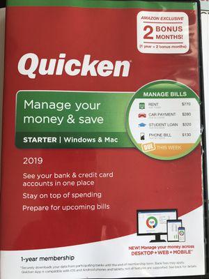 Quicken 2019 for Sale in San Diego, CA