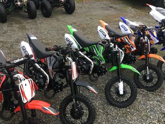 Brand new Coolster / Apollo/SSR 70 CC electric start automatic dirtbike for Sale in University Place,  WA