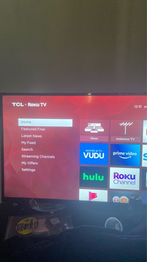 TCL 43 inch roku 4K tv for Sale in Kent, WA