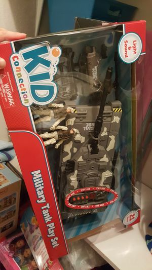 Kid Connection military tank with dolls for Sale in Saint Robert, MO