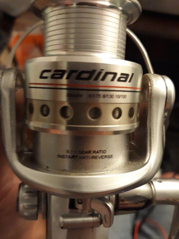 Abu Garcia Cardinal series rod and reel